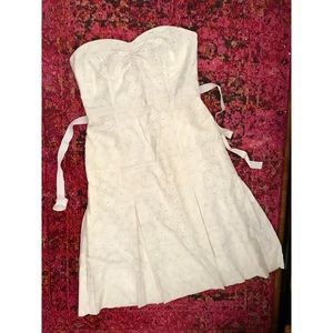 Amazing Tracy Reese Eylet Dress Wedding! Size 12
